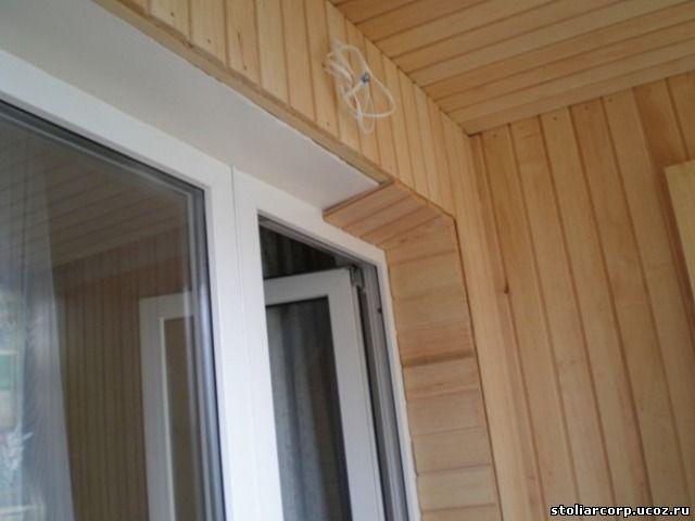 Обшить балкон вагонкой утеплить лоджию своими руками - отдел.